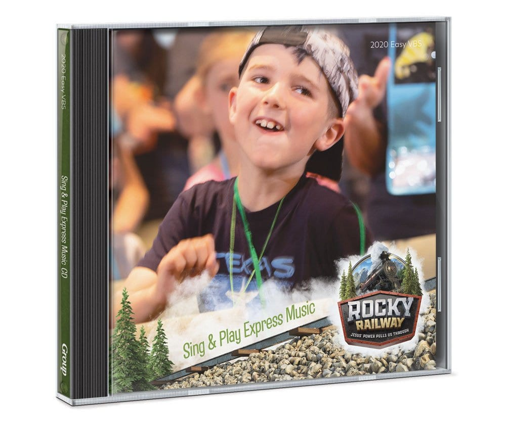 Rocky Railway VBS Audio CD cover